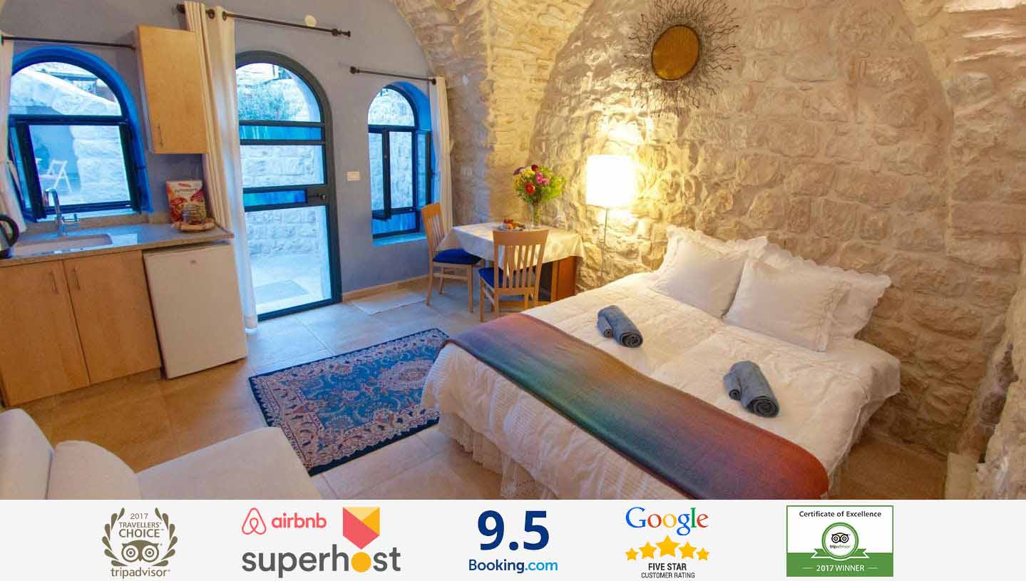 #1 B&B/Inns in Tzfat (TripAdvisor)Welcome to the Artist Quarter Guesthouse B&B