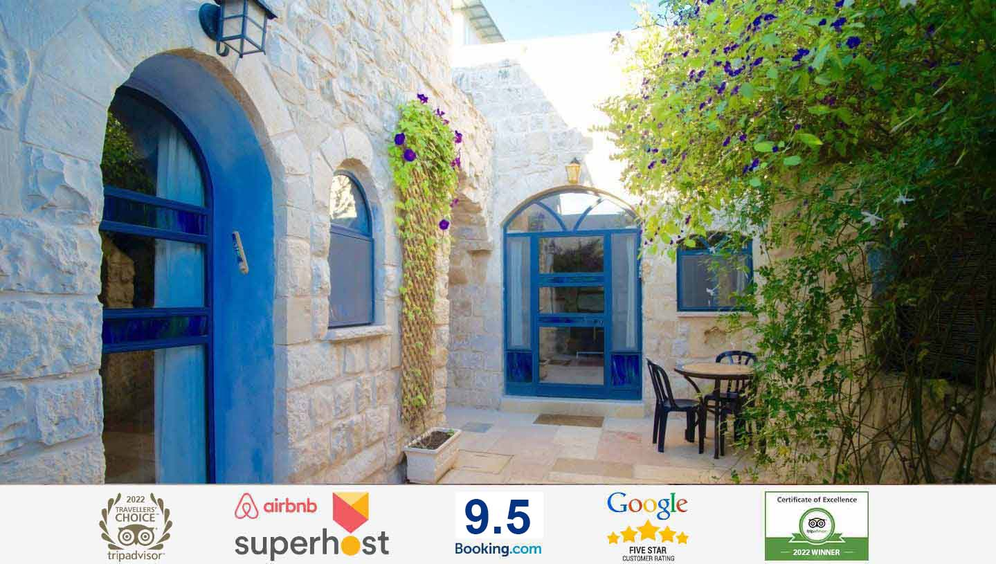 Quiet, yet centrally located in the Artist Quarter of the Old CityIn the heart of Tzfat Israel